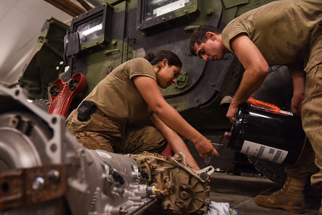 A Friction-Fighting Powertrain Treatment for Our Fighting Forces